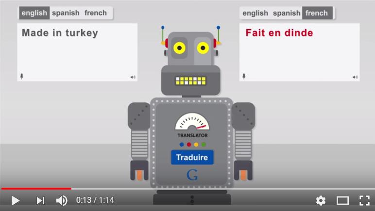 Dangers de la traduction automatique