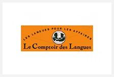 Logo clients - Comptoir des langues