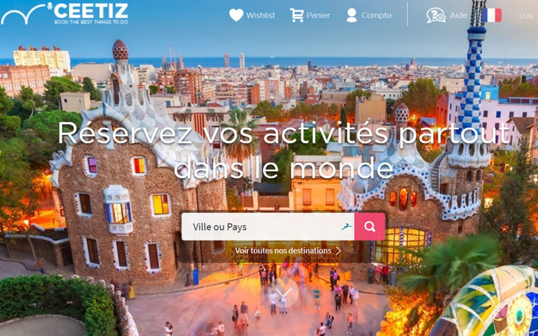 Traduction du site internet Ceetiz