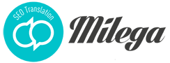 E translation agency Logo
