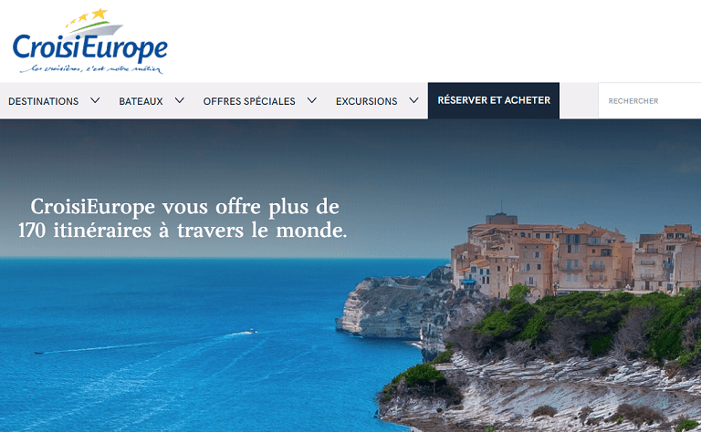 Translation of the CroisiEurope cruises site – Milega Translation Agency