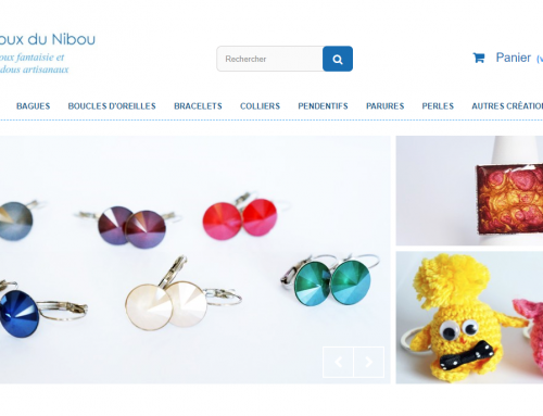 Les Bijoux du Nibou: translation of an e-commerce website via our API PrestaShop