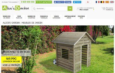 Traduction des fiches-produits du site Alice's Garden