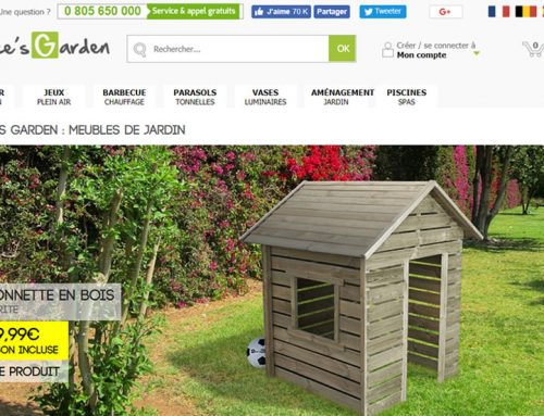 Alice's Garden: multilingual translation for a specialist in garden furniture