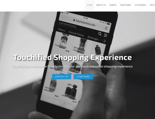 Touchize: la traduction d'un module e-commerce de shopping mobile