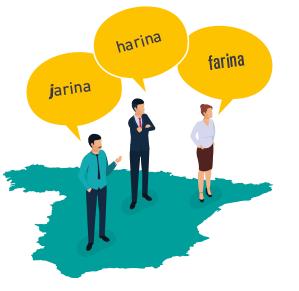 Dialectes et langues officielles en espagne